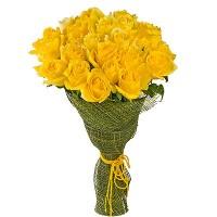 Букет из желтых роз «Обещание»